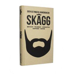 Nicotext SKÄGG - Den ultimata handboken Lifestyle Vit