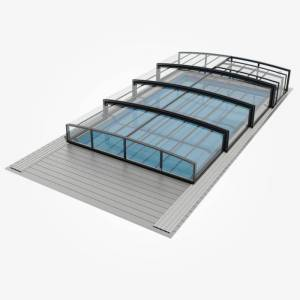 ALUNA® H20 4,75x8,57 m Klarglas