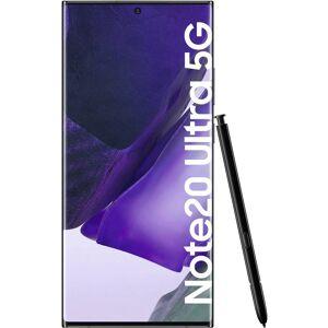 Samsung Galaxy Note 20 Ultra 5G 4G Dual-SIM Smartphone 256 GB 6.9 tum (17.5 cm) Dual-SIM Android™ 10 108 Megapixel, 12 Megapixel, 12 Megapixel Svart