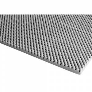 80702644 Akustiskt skum (L x B x H) 2000 x 1000 x 48 mm Polyuretan