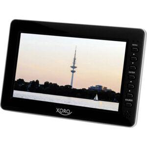 Xoro PTL 700 Bärbar TV 17.78 cm 7 tum EEK: B (A++ - E) Batteridrift Svart