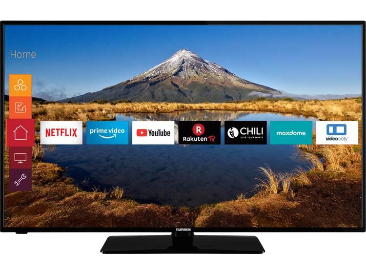 Telefunken D32F545A LED-TV 80 cm 32 tum EEK A+ (A+++ - D) DVB-T2, DVB-C, DVB-S, Full HD, Smart TV, WLAN, CI+ Svart