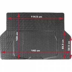 DINO 130026 Bagagerumsmatta Passar till Universal  (L x B) 108 cm x 140 cm Svart