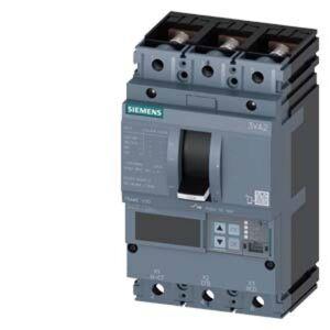 Siemens 3VA2010-5JQ32-0CH0 Brytare 1 st 3 switch Inställningsområde (ström): 40 - 100 A Växelspänning (max.): 690 V/AC (B x H x D) 105 x 181 x 86 mm