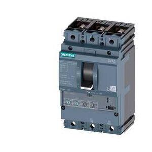 Siemens 3VA2163-5HN32-0CH0 Brytare 1 st 3 switch Inställningsområde (ström): 25 - 63 A Växelspänning (max.): 690 V/AC (B x H x D) 105 x 181 x 86 mm