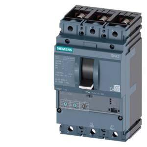 Siemens 3VA2163-6HL32-0CH0 Brytare 1 st 3 switch Inställningsområde (ström): 25 - 63 A Växelspänning (max.): 690 V/AC (B x H x D) 105 x 181 x 86 mm