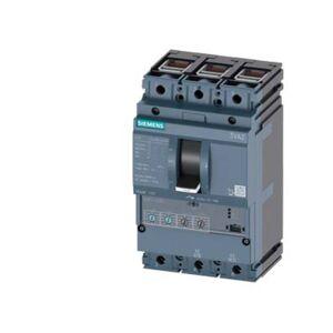 Siemens 3VA2010-5HN36-0CH0 Brytare 1 st 3 switch Inställningsområde (ström): 40 - 100 A Växelspänning (max.): 690 V/AC (B x H x D) 105 x 181 x 86 mm