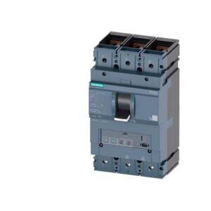 Siemens 3VA2440-5HN32-0CH0 Brytare 1 st 3 switch Inställningsområde (ström): 160 - 400 A Växelspänning (max.): 690 V/AC (B x H x D) 138 x 248 x 110 mm