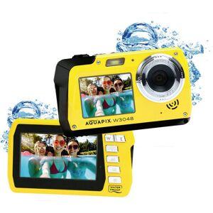 "Easypix W3048-Y ""Edge"" Digitalkamera 48 Megapixel  Gul  Undervattenskamera, Frontdisplay"