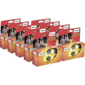 Topshot 400 Flash Engångskamera 9 st med inbyggd blixt