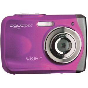 Easypix W1024-I Splash Digitalkamera 16 Megapixel  Rosa  Undervattenskamera