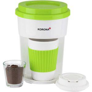 Korona 12203 ToGo Kaffebryggare Grön, Vit