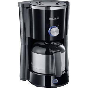 Severin KA 4840 TypeSwitch Kaffebryggare Svart  Kapacitet Koppar=8