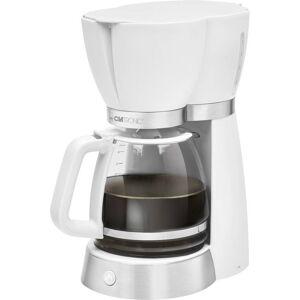Clatronic KA 3689 Kaffebryggare Vit  Kapacitet Koppar=15