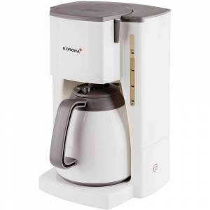 Korona 10410 Kaffebryggare Creme, Brun  Kapacitet Koppar=8 Isolerad kanna