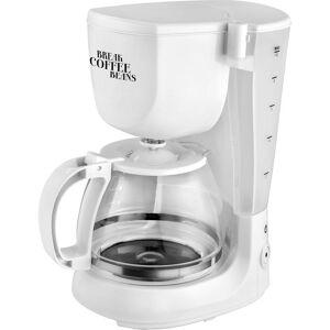 TKG Team Kalorik TKG CM 1021 W Kaffebryggare Vit  Kapacitet Koppar=10 Varmhållningsfunktion
