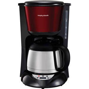 Morphy Richards Kaffebryggare Rostfritt stål, Röd   Isolerad kanna, Varmhållningsfunktion, Timerfunktion, Display