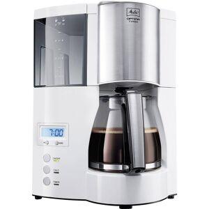 Melitta Optima Timer ws Kaffebryggare Vit  Kapacitet Koppar=12 Display, Timerfunktion, Varmhållningsfunktion