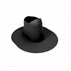 Eico tillbehör till köksfläkt tagpap genomföring høj - svart