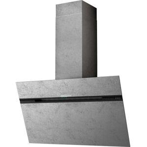 Eico vägghängd köksfläkt stripe urban 90 zinc