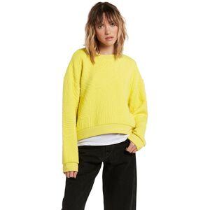 Volcom Quilty Crew Sweater citron