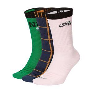 Nike SB Everyday Max LW Skate Crew (3 Pk) Socks multi/color