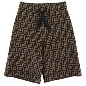 Fendi Shorts - Bermuda - Brun m. Allover Logo