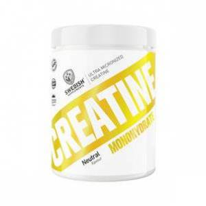 Swedish Supplements Creatine Monohydrate, 500g.
