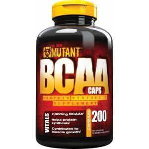 Mutant Nutrition BCAA, 200 kapsl.