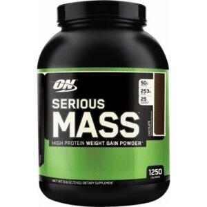 Optimum Nutrition Serious Mass, 2720g. Strawberry