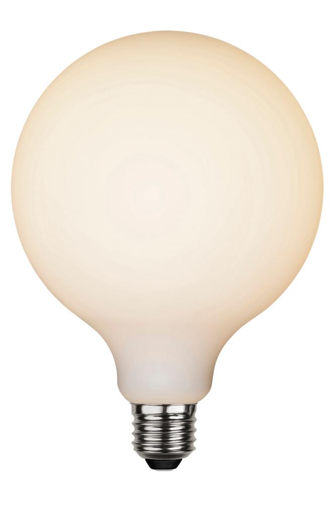 LED ljuskälla E27 G95 opaque double coating Vit