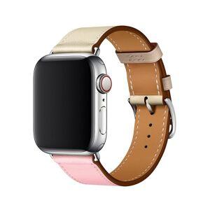 Unbranded Armband för Apple Watch 38mm - Konstläder Tvåfärgad