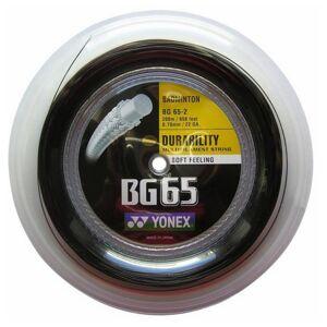 Yonex Bg 65 200 M 0.70 mm Black