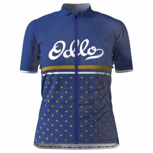 Odlo Element Print M Clematis Blue / Retro