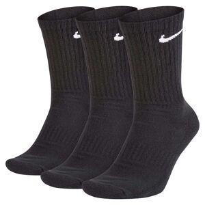 Nike Everyday Cushion Crew 3 Pair EU 38-42 Black / White