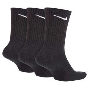 Nike Everyday Cushion Crew 3 Pair EU 42-46 Black / White