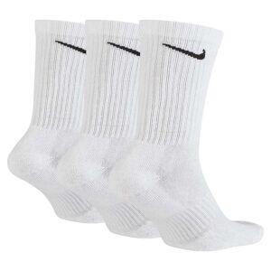 Nike Everyday Cushion Crew 3 Pair EU 38-42 White / Black