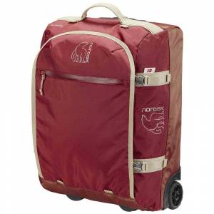 Nordisk Verran 45l Wheeled Duffel One Size Burnt Red