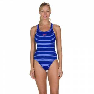 Speedo Endurance+ Printed Medalist UK 32 Chroma Blue / White