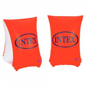 Intex Inflatable Armbands 30x15cm Cm - 6/12 Years 6-12 Years Orange