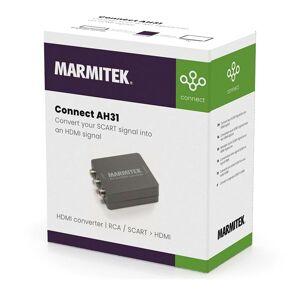 Marmitek Hdmi Converter Rca Scart Connect Ah31 One Size Black