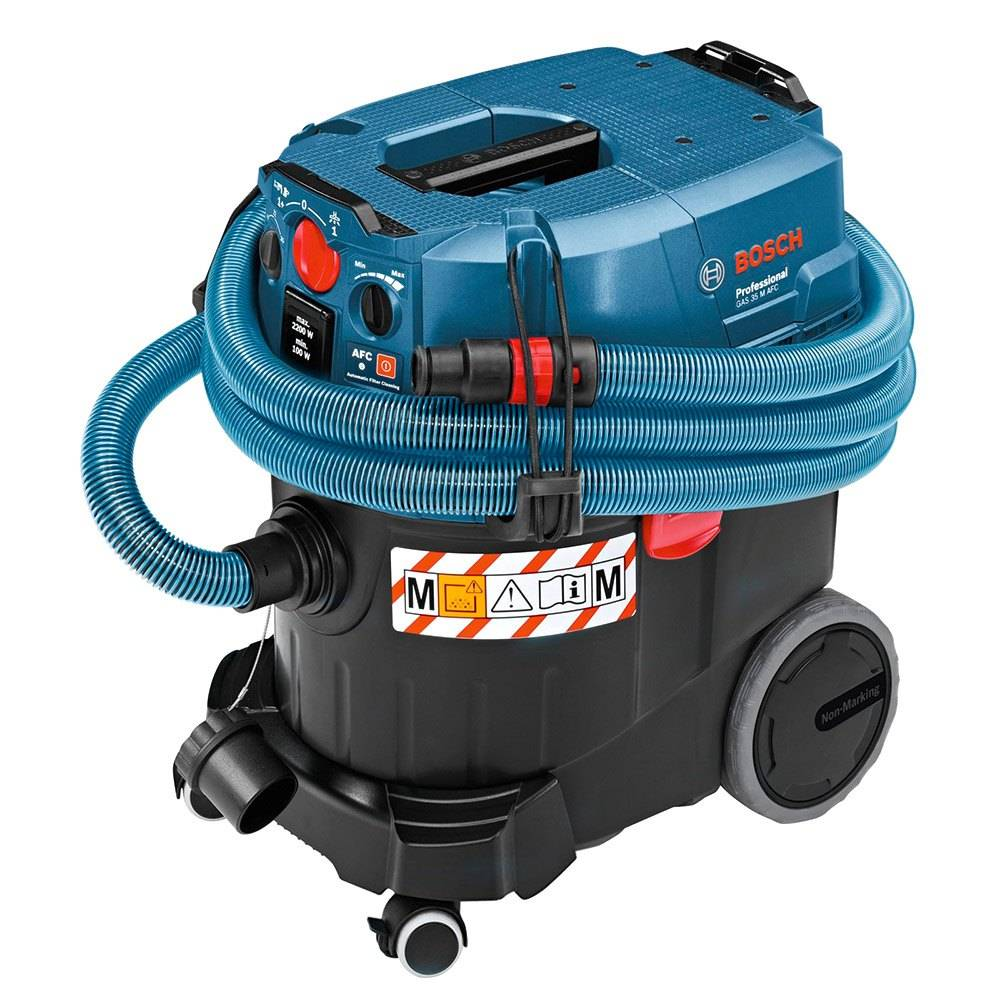 Bosch Gas Afc Wet/dry Extractor 35 M One Size Black / Blue