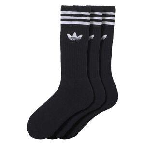 Adidas Originals Solid Crew Sock EU 39-42 black / white