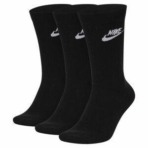 Nike Sportswear Everyday Essential Crew 3 Pair EU 38-42 Black / White