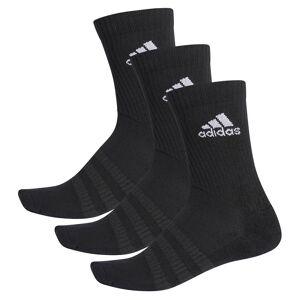Adidas Cushion Crew 3 Pair EU 40-42 Black / Black / White