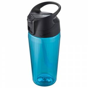 Nike Accessories Tr Hypercharge Straw B Graphic 475ml One Size Blue Fury / Anthracite