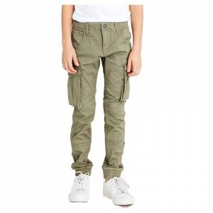 Name It Bamgo Regular Fitted Twill 8 Years Deep Lichen Green