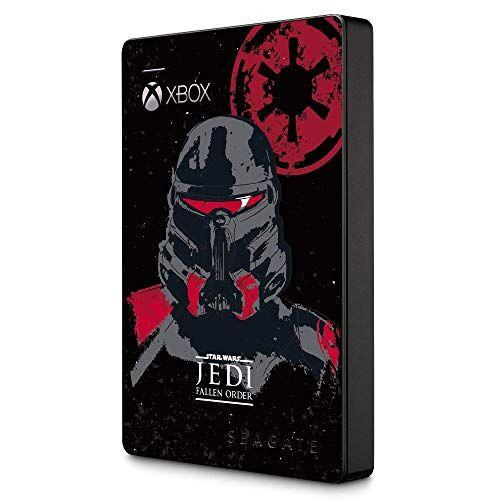 STEA2000426 Seagate  Game Drive Bärbar extern hårddisk för Xbox GamePass Edition JEDI, 2 TB, 2,5 tum, USB 3.0, Xbox, Flerfärgad