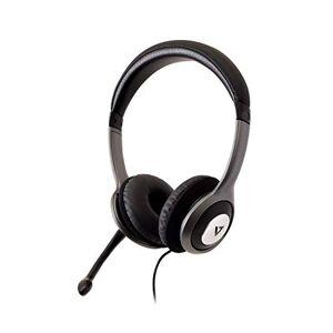 HU521 V7 -2EP Headset Headset Headset Headset Svart, Silver Headset (Call Center/Kontor, Headaural, pannband, svart, silver, knapp, RoHS, CE, FCC)