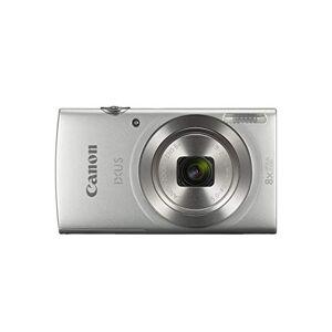 1806C001 Canon  Canon Ixus 185 Kompakt Kamera, Silver, 2.21 x 9.52 x 5.43 cm